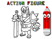 Action Figure Coloring