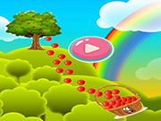 Apples Collect Game 2D