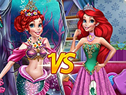 Ariel Princess Vs Mermaid