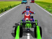 ATV Quad Bike Traffic Racer