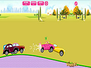Barbie Car Racing