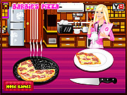 Barbie Cooking Pizza