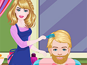 Barbie Hairdresser With Ken