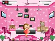 Barbie pink fancy room