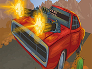 Battle On Road Car Game 2D
