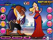Beauty and The Beast Dress Up