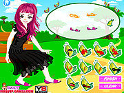 Beauty Flora Dress Up Game