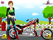 Biker Girl Dress Up