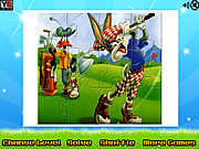 Bugs Bunny And Daffy Puzzle