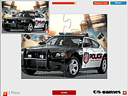 Charger Police Car Jigsaw