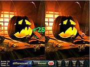 Crazy pumpkin 5 Differences