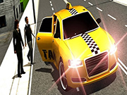 Crazy Taxi Car Simulation Game 3D