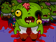 Crossy Road Zombies