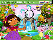 Cute Dora Hidden Numbers