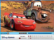 Disney Cars Hidden Letters