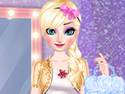 Elsa Dress Style Attempt