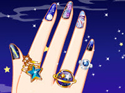 Galaxy Nail Art Designs