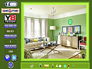 Green Room-Hidden Object