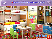 Kids Colorful Room Hidden Alphabets