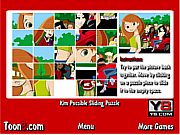 Kim Possible Sliding Puzzle