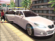 Luxury Limousine Car Taxi Driver: City Limo games