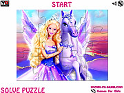 Magic of Pegasus Barbie Jigsaw