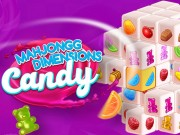 Mahjongg Dimensions Candy 640 seconds