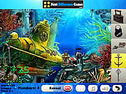 Marine predators. Hidden objects