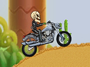 Motor Bike Hill Racing 2D