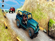 Mountain Climb Passenger Jeep Simulator Game