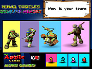 Ninja Turtles Colours Memory