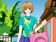 Spring Fashion Girl
