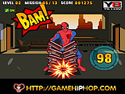 Spiderman\'s Power Strike