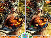 Spot the Difference-Pumpkin Girl