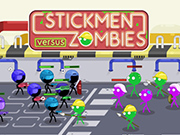 Stickmen Vs Zombies