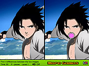 Uchiha Sasuke Differences