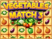 Vegetables Match 3