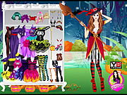 Witch Halloween Girl Fashion